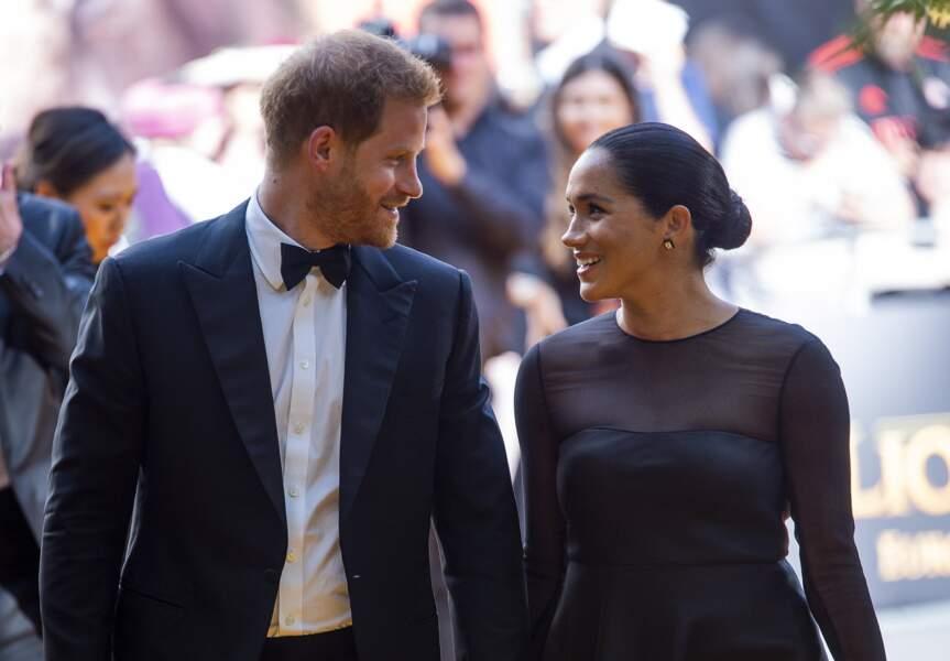 Meghan Markle et le prince Harry radieux et très complices