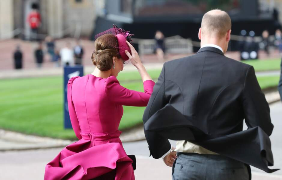 Kate Middleton en robe Alexander McQueen au mariage d'Eugenie d'York