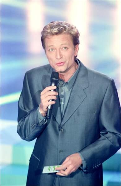 """Laurent Boyer en 2000 sur le plateau de l'émission """"Graines de Stars"""""""