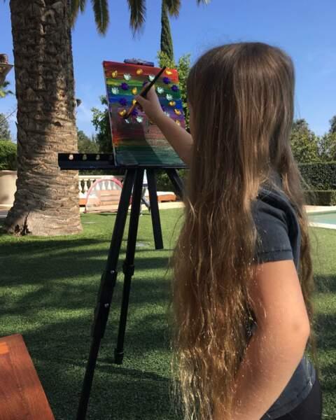 Victoria Beckham si fière des talents artistiques de sa fille Harper