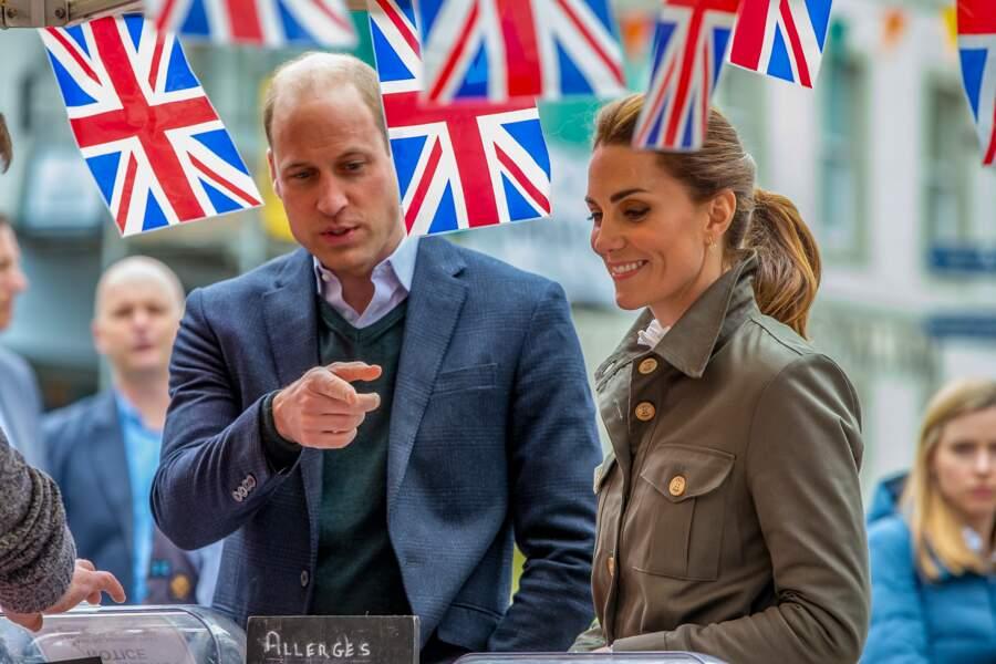 Le prince William et Kate Middleton semblaient très intéressés par la production locale de Cumbria.