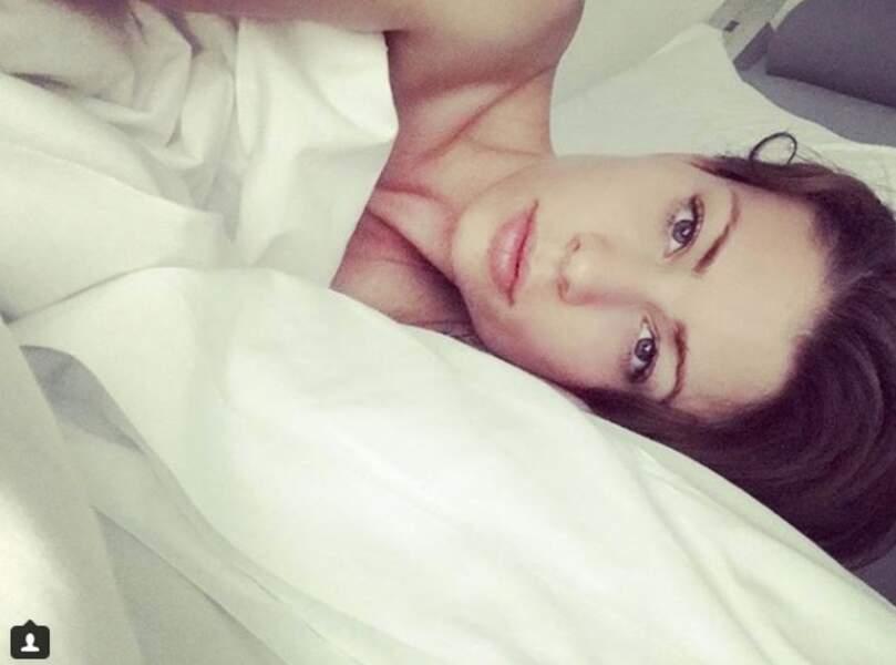 Jill Vandermeulen dans son lit…