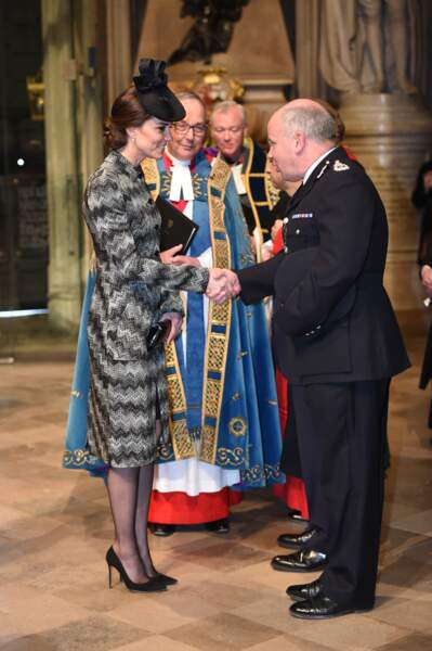 Le prince William et Kate Middleton à la messe Service of Hope, en l'honneur des victimes de l'attentat de Londres