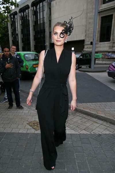 Kitty Spencer a choisi un look étonnant pour cette soirée londonienne