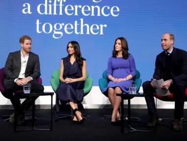 PHOTOS – Meghan Markle, Kate Middleton, Harry et William pour leur premier évènement de charité ensemble