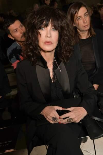 Isabelle Adjani au défilé Givenchy