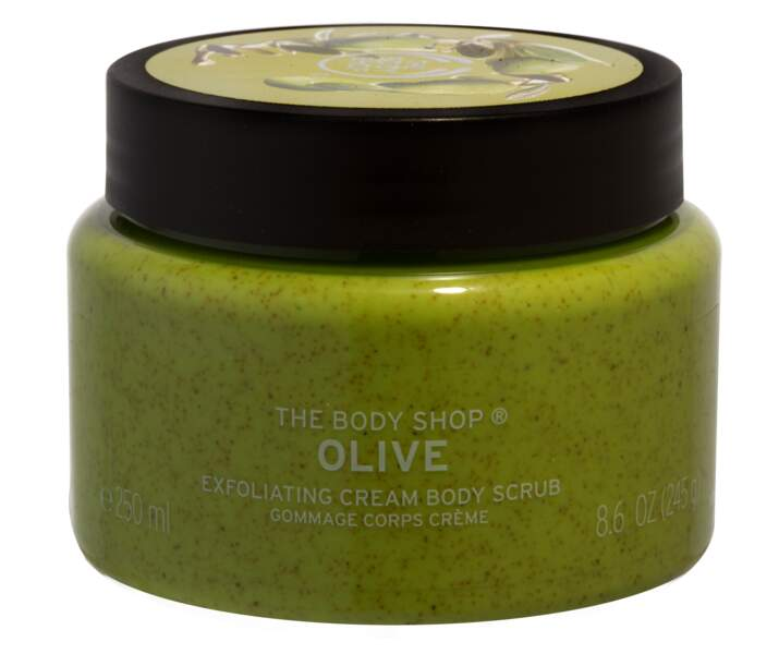 Gommage Corps Crème Olive, The Body Shop, 5,50 €