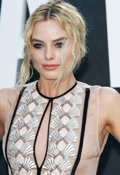 Les mèches bohèmes de Margot Robbie