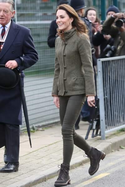La duchesse de Cambridge était attendue pour inaugurer un jardin communautaire