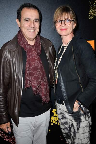 Thierry Beccaro et sa femme Emmanuelle