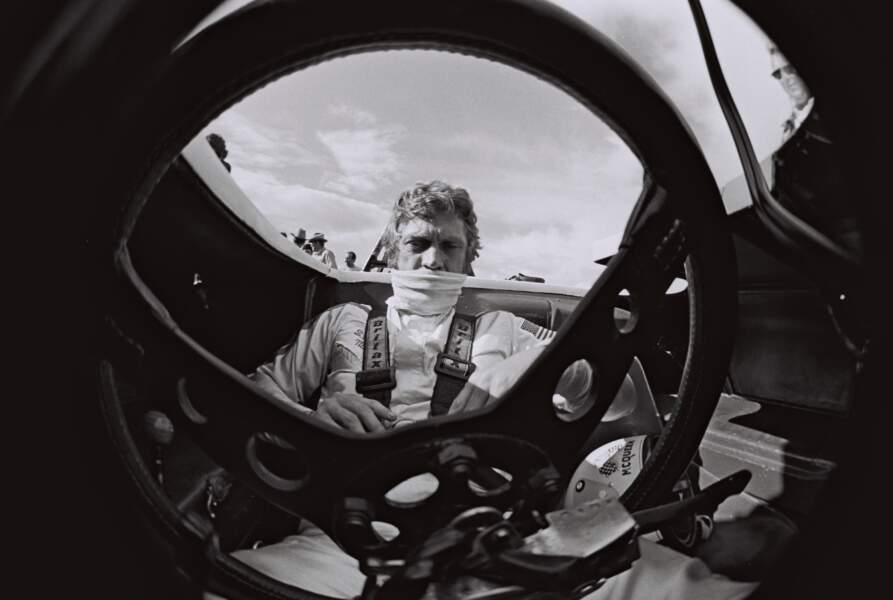 Steve McQueen s'est entraîné au pilotage sur le circuit de Sebring