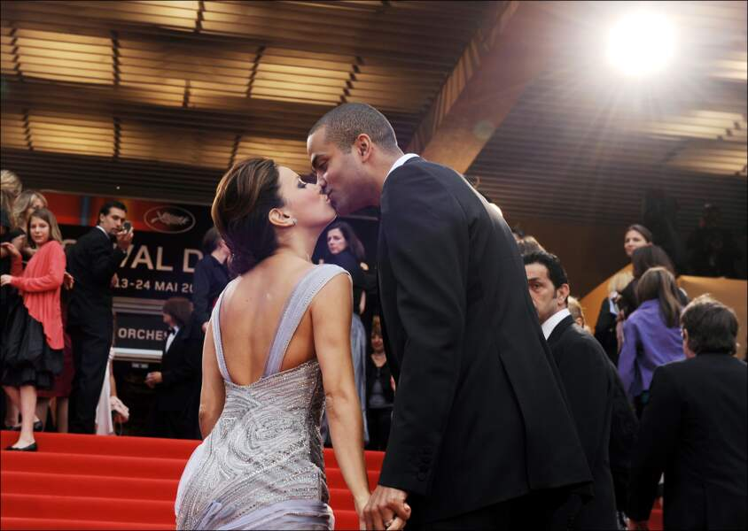 Eva Longoria et Tony Parker en 2008