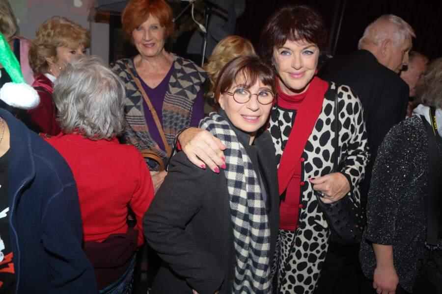 Ariane Ascaride et Anny Duperey.