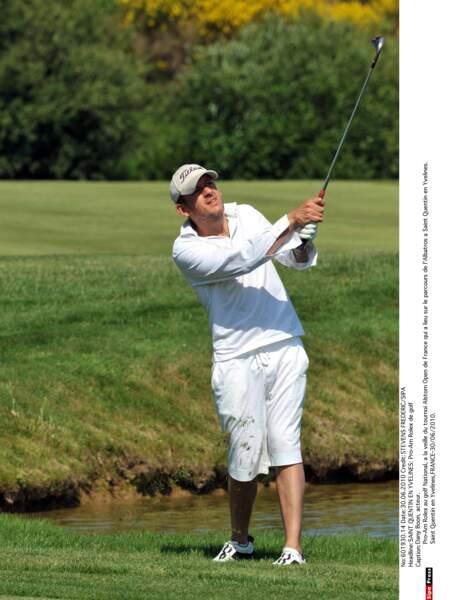 Dany Boon n'a pas que le cinéma comme passion, il pratique aussi le golf
