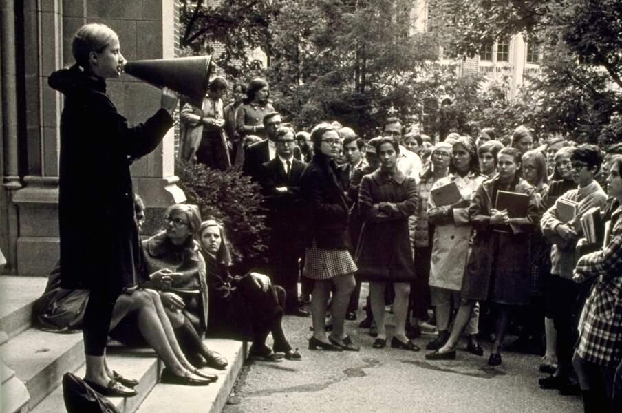 Hillary Rodham, au Wellesley College