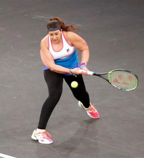 La joueuse a participé à un mini-tournoi d'exhibition à New York