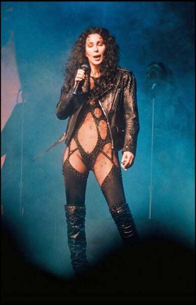 Cher en concert à Berlin en 1992