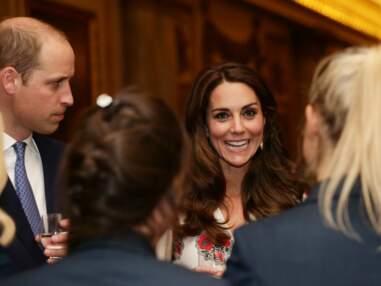 Kate Middleton en robe fleurie