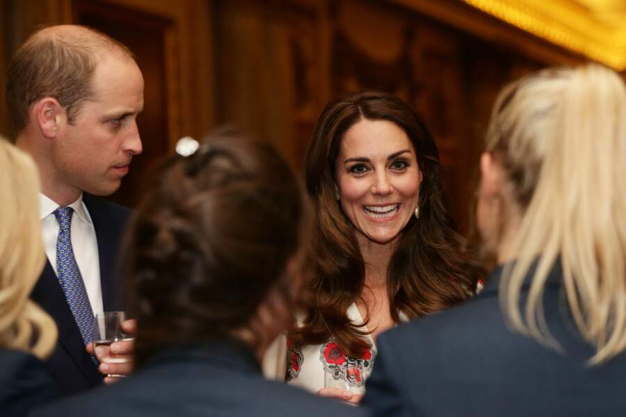 Le prince William, duc de Cambridge, et Kate Catherine Middleton, duchesse de Cambridge
