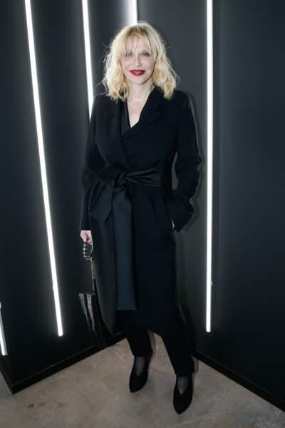 La chanteuse Courtney Love lors de la soirée Yves Saint Laurent
