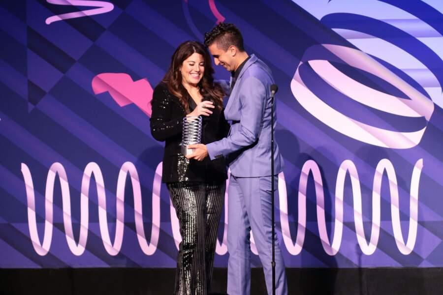 Aux Webby Awards, ce 13 mai, Monica Lewinsky a été récompensée pour sa campagne #DefyTheName