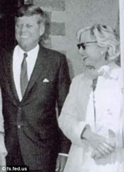 John F. Kennedy et Mary Meyer