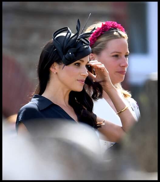 Meghan Markle accompagnait le prince au mariage de son meilleur ami, Charlie van Straubenzee avec Daisy Jenks