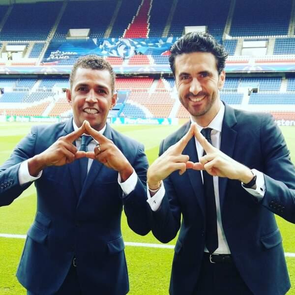 Sonny Anderson et Alexandre Ruiz