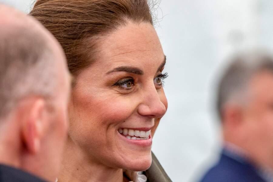 Kate Middleton ne quitte plus son enlumineur doré pour faire pétiller ses yeux verts