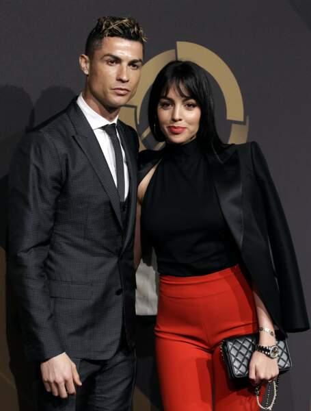 Georgina Rodriguez et Cristiano Ronaldo.
