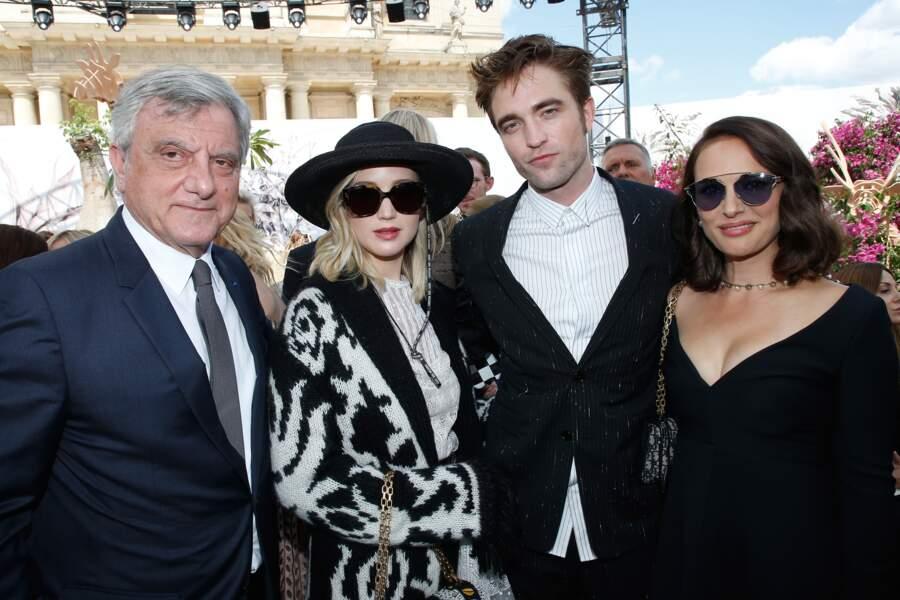 Natalie Portman très sexy aux côtés des autres égéries Dior Jennifer Lawrence et Robert Pattinson