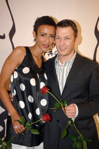 Sonia Rolland et Christophe Rocancourt assistent à un gala de charité en octobre 2007