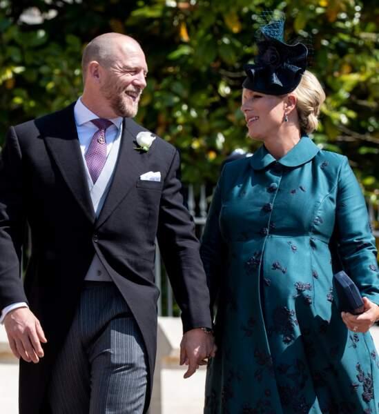 Zara Phillips et son mari Mike Tindall ont accueilli le 18 juin 2018 leur deuxième fille, Lena