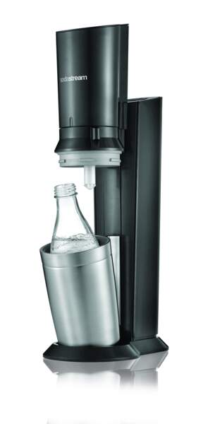Machine à eau gazeuse Crystal, 129,99 €, Sodastream.