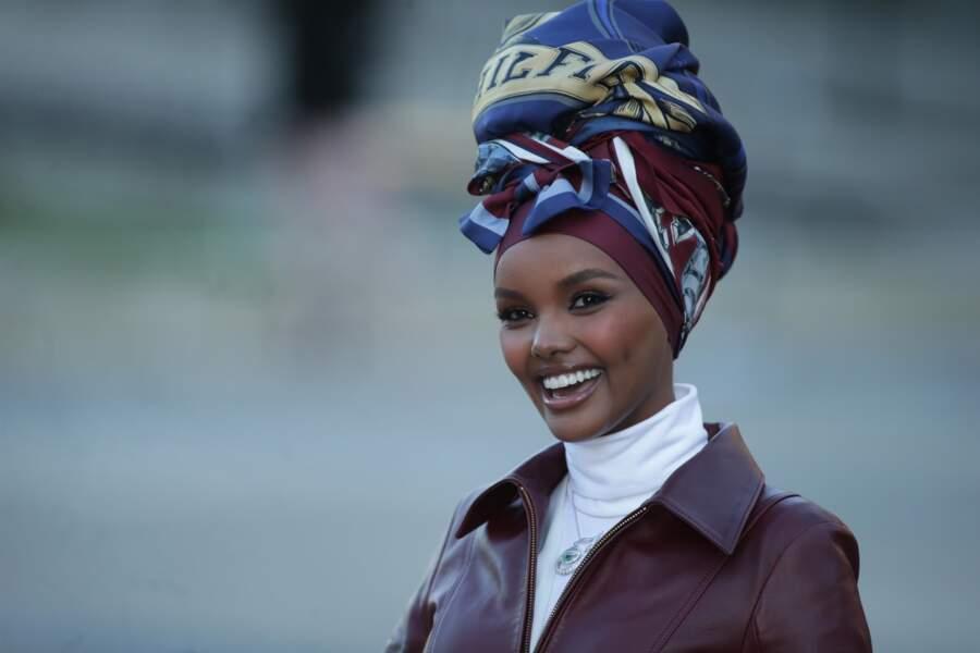 Le turban chic de Halima Aden