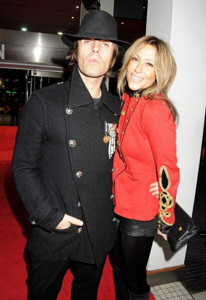 Liam Gallagher et Nicole Appleton en 2012