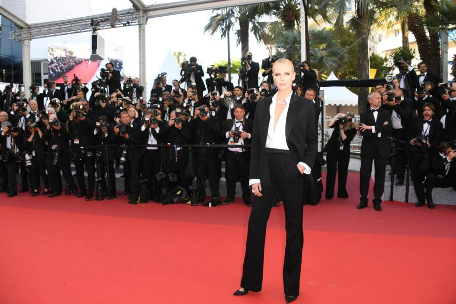 Charlize Theron, en Dior Couture,