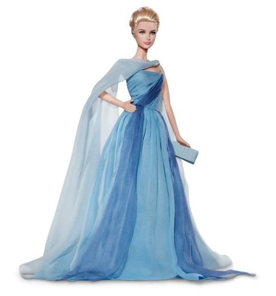 """La poupée Barbie inspirée par Grace Kelly dans le film """"La Main au Collet"""""""