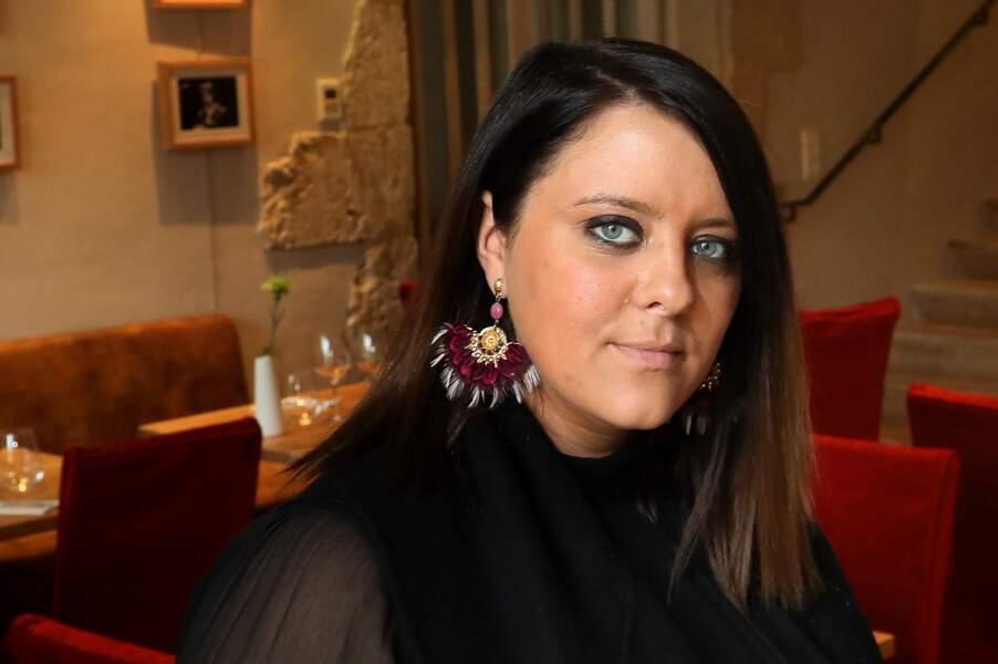 """Aurélie Cabrel, à l'intérieur de l'hôtel restaurant """"Le Square"""", l'établissement qu'elle vient d'ouvrir à Astaffort"""