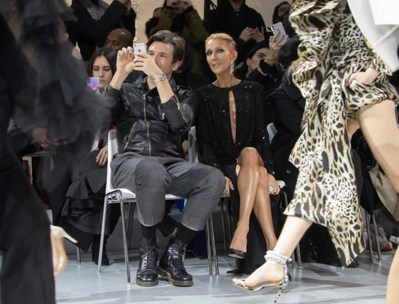Céline Dion, très sexy pour ses retrouvailles avec Pepe Munoz à Paris