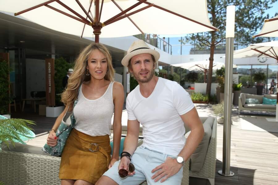 Comme de nombreux couples, Elodie Fontan et Philippe Lacheau ont eux aussi décidé de se rendre à Roland Garros