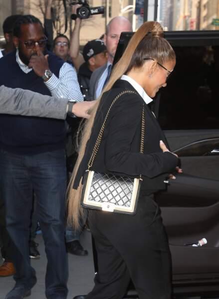 Jennifer Lopez dit oui aux extensions !