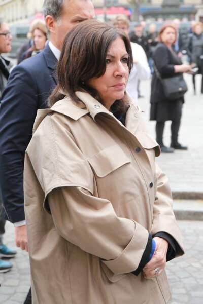 Anne Hidalgo, maire de Paris, à l'hommage à Jacques Higelin