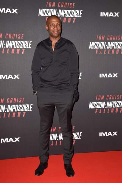 """Harry Roselmack au photocall lors de l'avant-première mondiale de """"Mission: Impossible Fallout"""""""