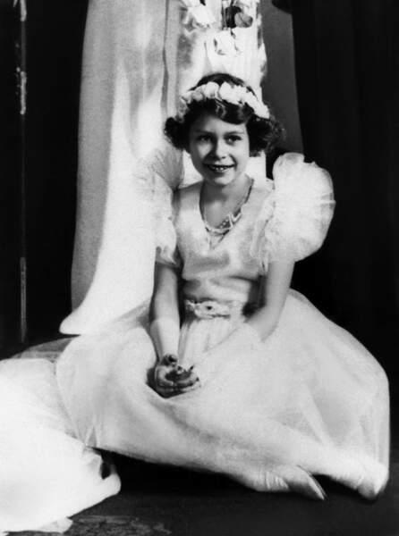 Elizabeth II, du temps où elle était une princesse, en 1934