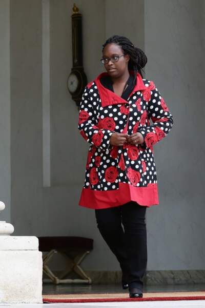Sibeth Ndiaye en plusieurs looks confectionnés maison 2/10