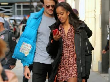 Photos - Malia Obama et son petit-ami Rory Farquharson, amoureux et complices dans les rues de New-York