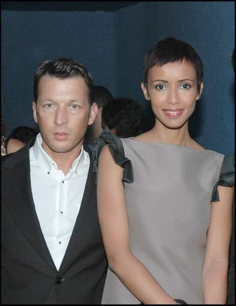 Sonia Rolland et Christophe Rocancourt lors d'un festival à Tunis