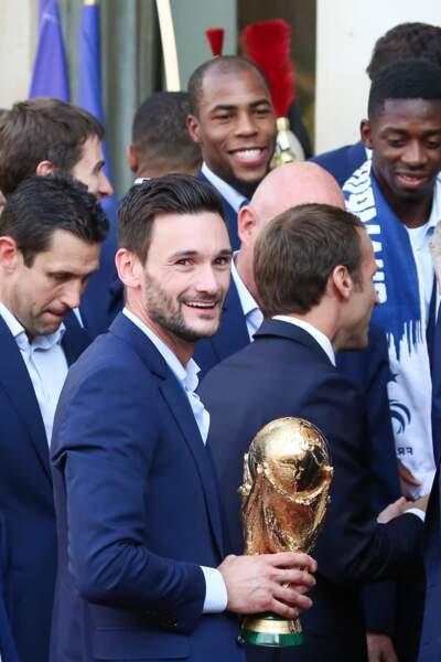 Hugo Lloris, capitaine et gardien de l'Equipe de France.