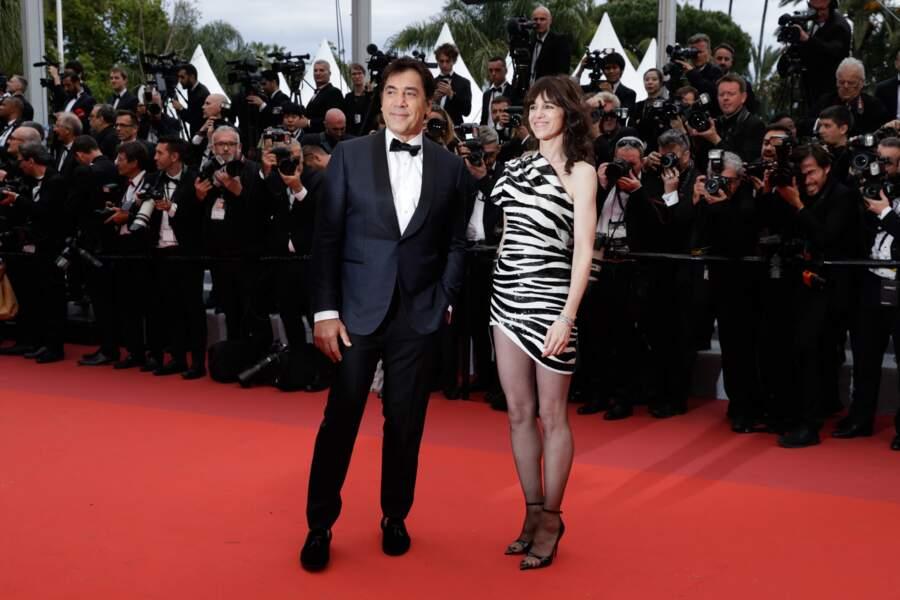 Charlotte Gainsbourg et Javier Bardem avaient la charge d'ouvrir la 72e édition du Festival de Cannes